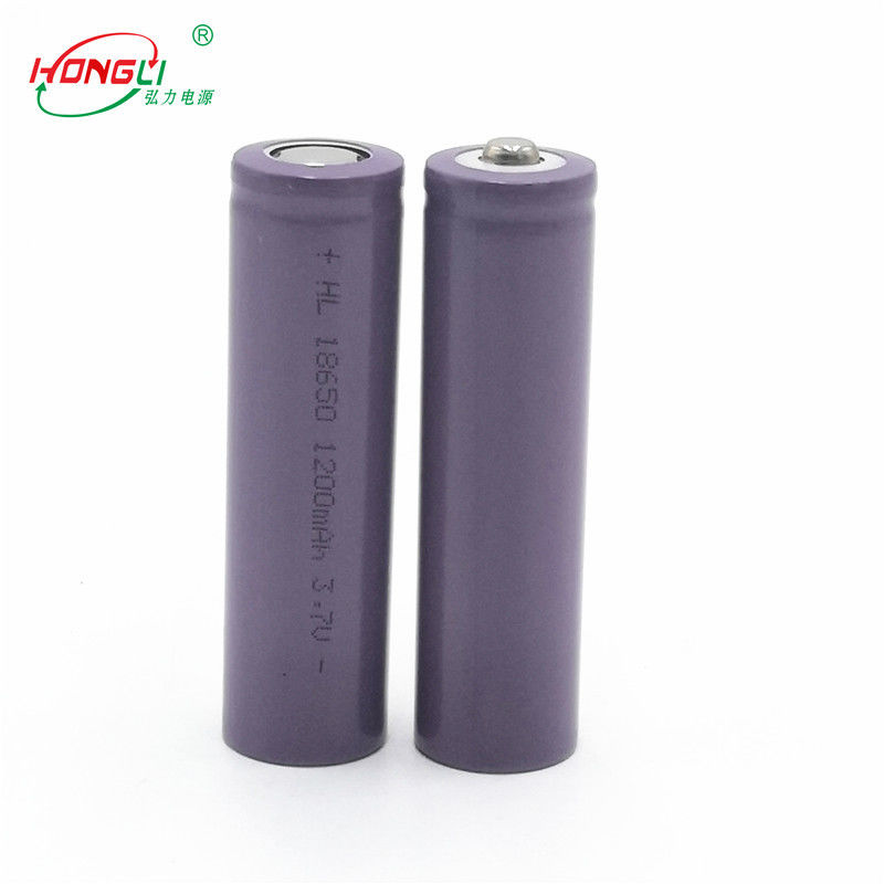18650 1200mAh Li Ion Rechargeable Battery 3.7 Volts BIS MSDS UN38.3
